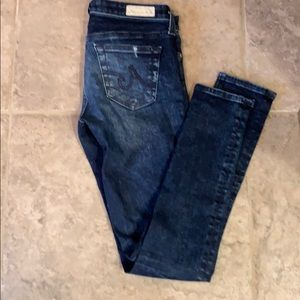 AG the legging Ankle Jean size 24